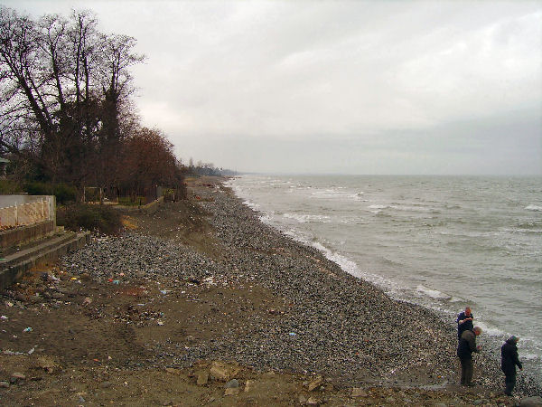 The Caspian Sea at Ramsar