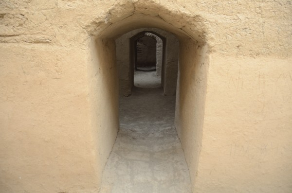 Tepe Nush-e Jan, inside the fort
