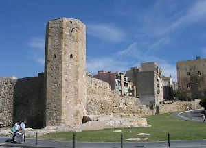 Tarraco, tower and wall