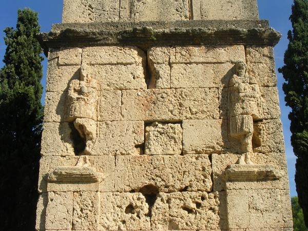 Tarraco, Tower of the Scipiones, detail