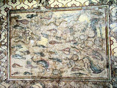 Tarraco, Mosaic with fish
