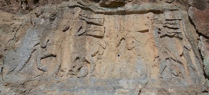 The Sasanian rock relief at Salmas