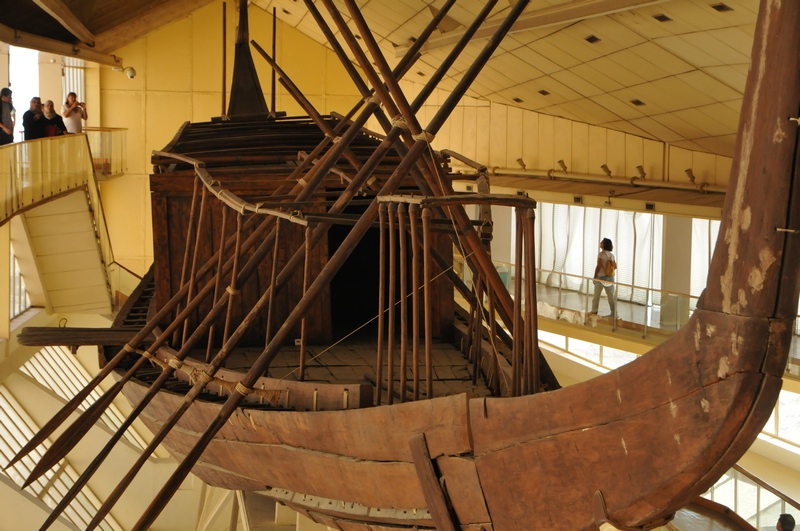 Giza, Pyramid of Khufu, Boat of the Sun
