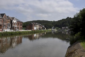 The Sambre near Thuin