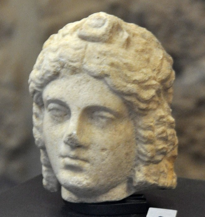 Byblos, Head of a young Roman