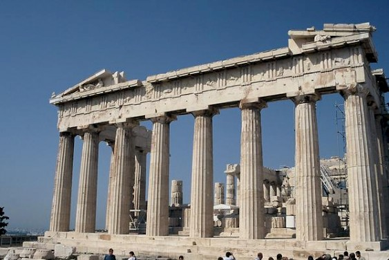 Parthenon, east façade