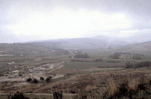 View of the Himera battlefield