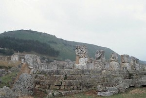 The victory temple at Himera