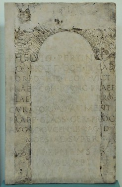 Reconstruction of the Brühl Inscription