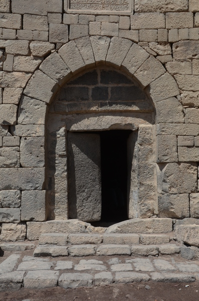 Qasr el-Azraq, south tower, door