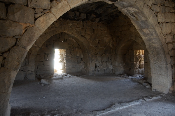 Qasr el-Azraq, south tower, room
