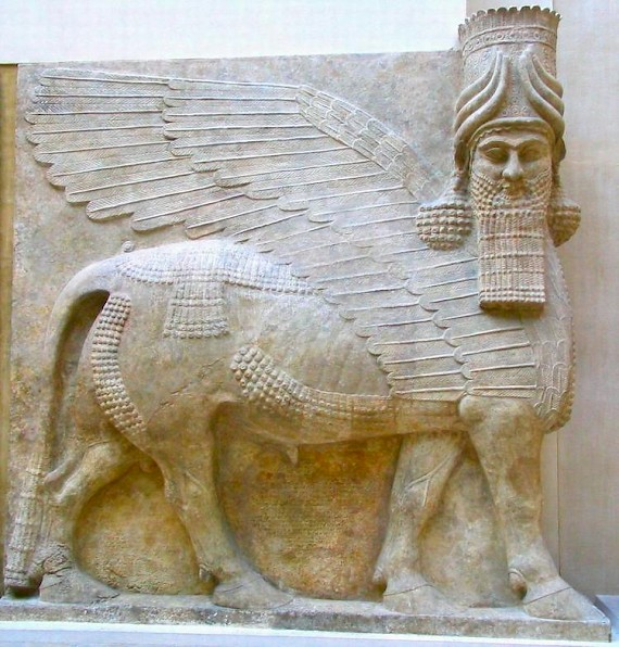 Lamassu (bull-man) - Livius