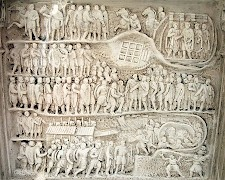 The capture of Edessa (Arch of Severus, Rome)