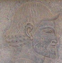 A Libyan. Relief from the East Stairs of the Apadana, Persepolis