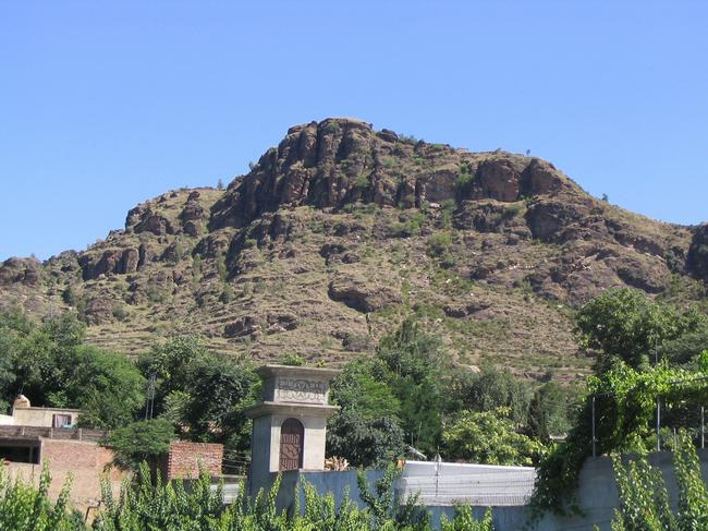 Barikot from the west