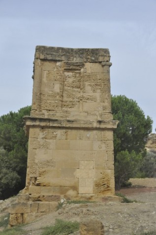 The so-called Tomb of Theron