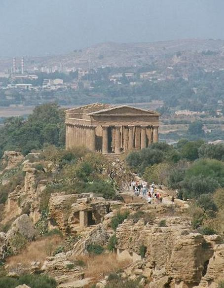 The so-called Temple of Concord