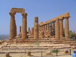 The so-called Temple of Hera
