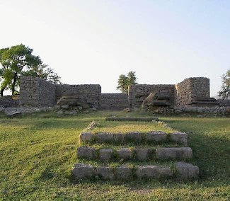 Jandial, temple and altar