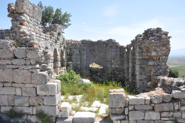 Priene, Agora, Byzantine church