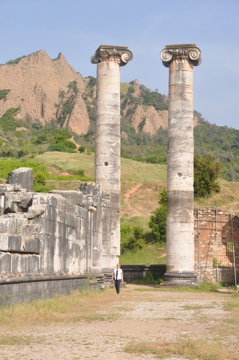 Sardes, temple of Artemis, Columns