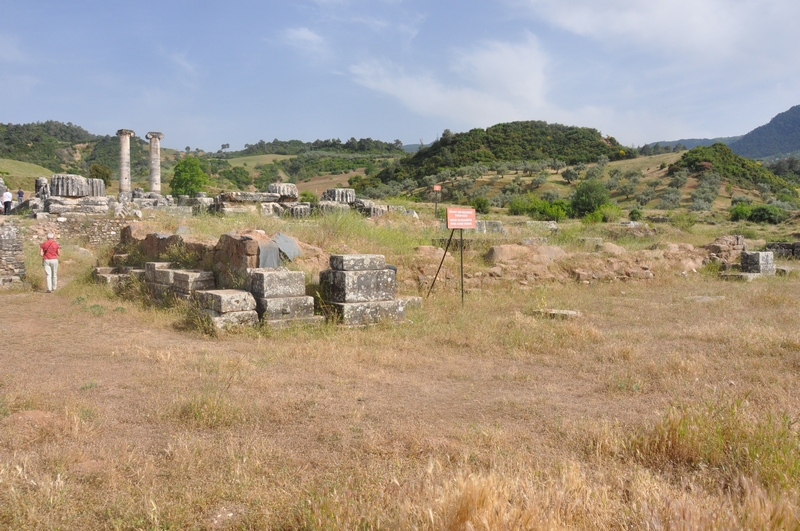 Sardes, temple of Artemis, Altar