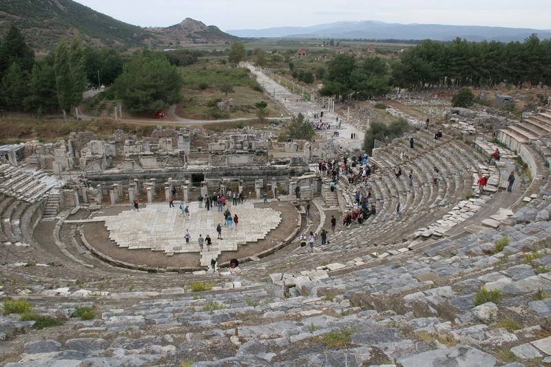 Ephesus, theater, General view (2)