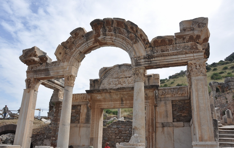 Ephesus, Temple of Hadrian (3)