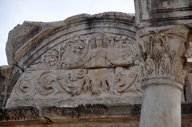 Ephesus, Temple of Hadrian, Facade (2)