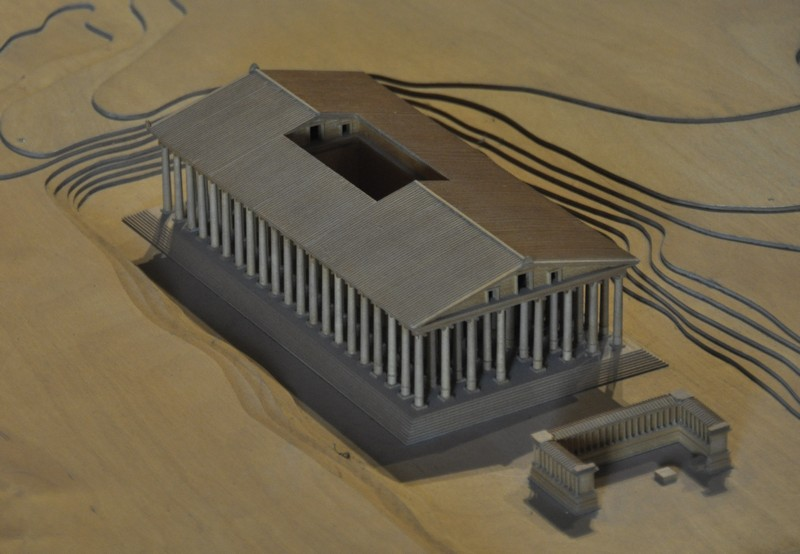 Ephesus, temple of Artemis, Model