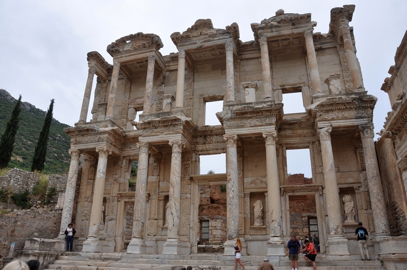 Ephesus, Library of Celsus, facade (4)