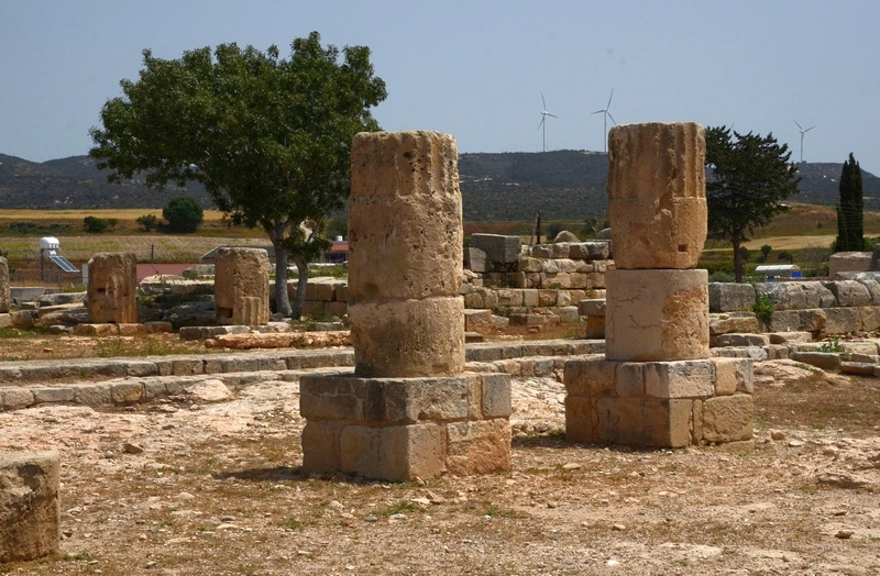 Old Paphos, Sanctuary II, South Stoa