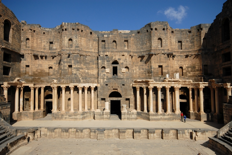 Bosra, Theater, Stage