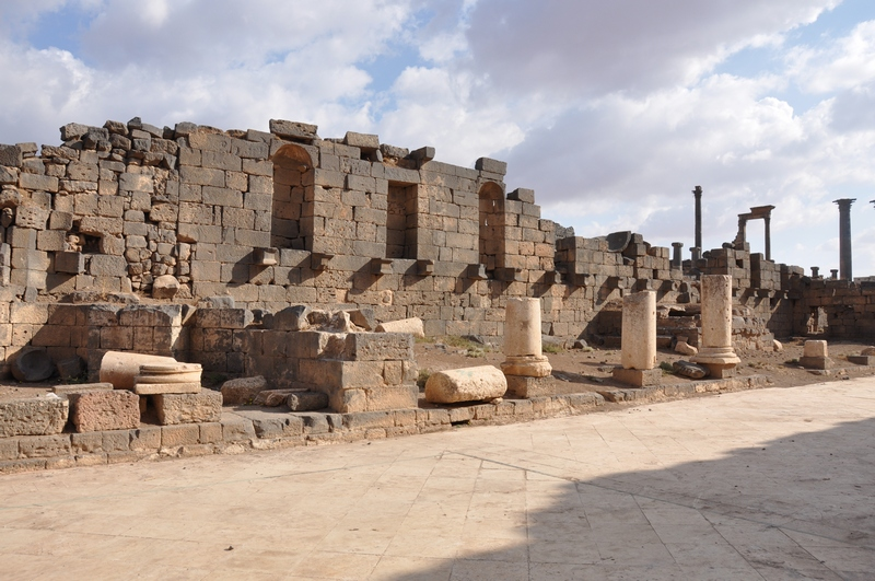 Bosra, Central Baths (1)