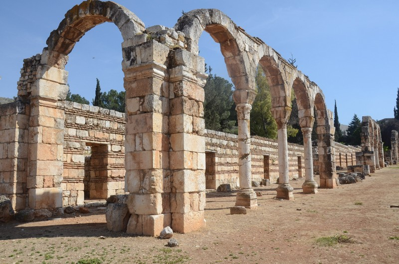 Anjar, Umayyad town, South Street