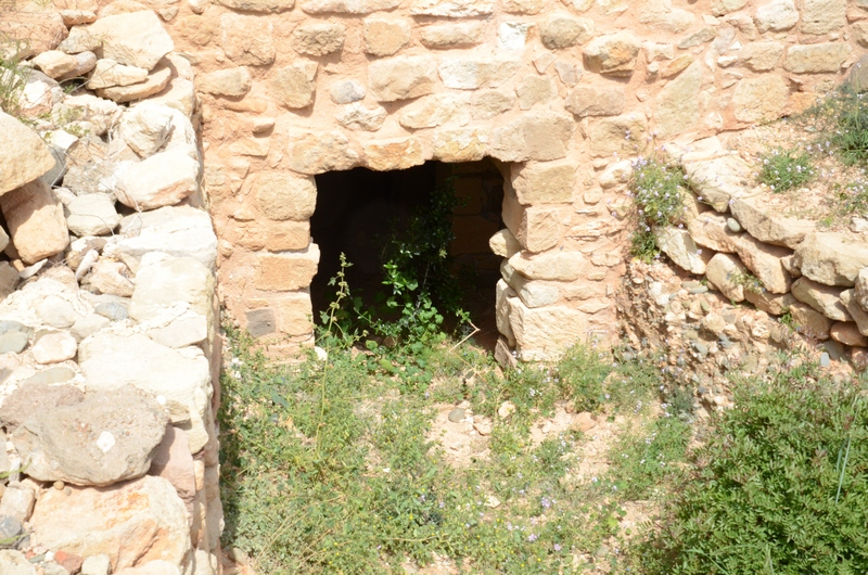 Kouklia, Marchellos, Entrance to one of the tunnels (1)
