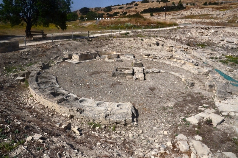 Amathus, Hellenistic baths