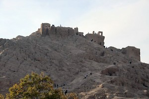 Sasanian fort with fire sanctuary