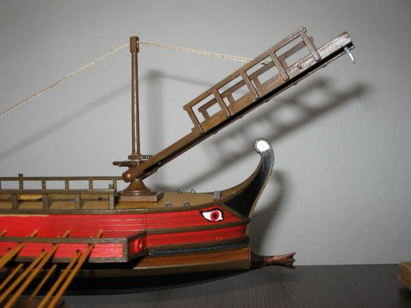 "Model of the ""corvus"" by Martin Lokaj"