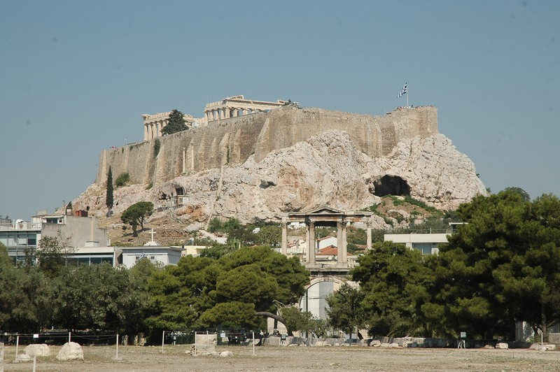 Athens, Acropolis from the east