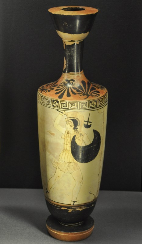 Lekythos with an Amazon