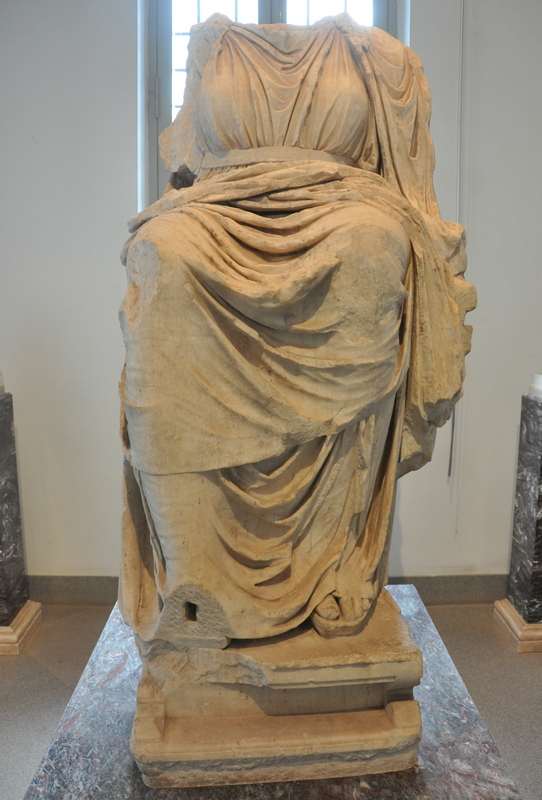 Rome, Palatine, Temple of Cybele, Statue
