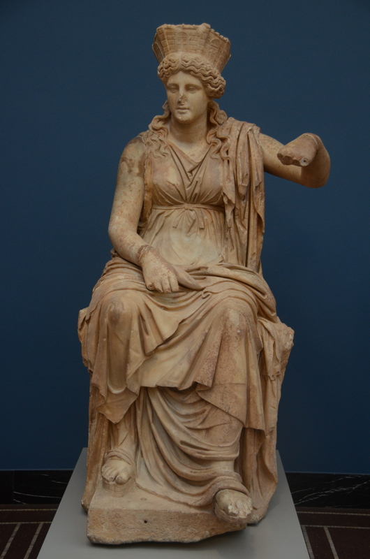 Formiae, Statue of Cybele