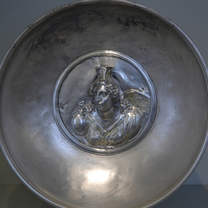 Hildesheim Silver Treasure, Cybele