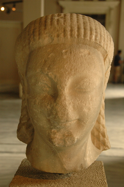 Samos, Head of a kouros (1)