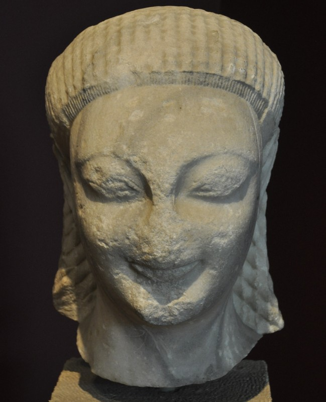 Samos, Head of a kouros (2)