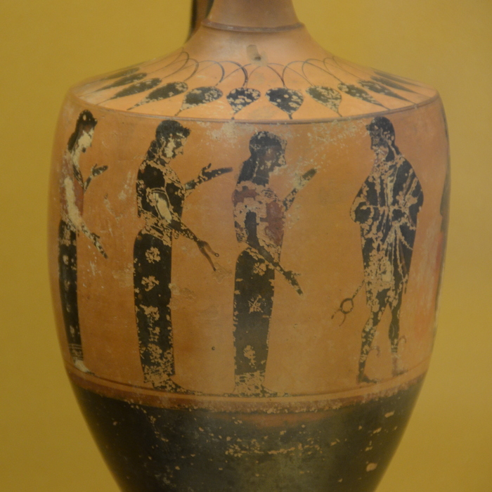 Boeotia, Vase with the judgment of Paris