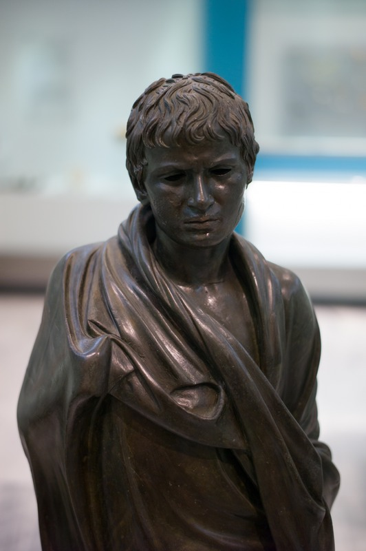 Hierapetra, Statue of a young Roman