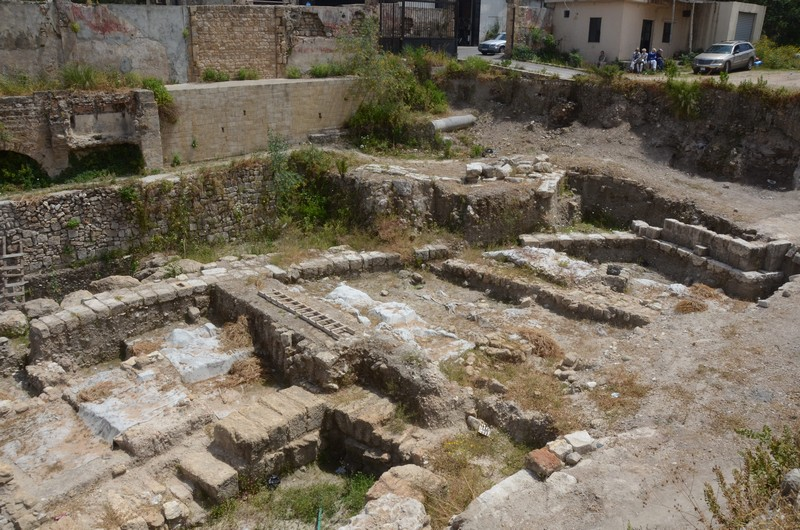 Sidon, College excavations
