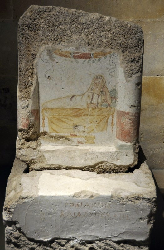 Sidon, Funerary stele of Robia